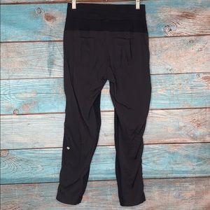 Lululemon Athletica Black Pants Joggers Workout